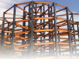 دانلود فایل ورد Word پروژه بررسی ساختار و سیستم های ساختمان های فولادی