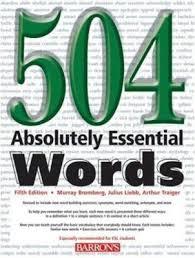 آموزش زبان 504  در هفت روز با روش تصویر سازی ذهنی