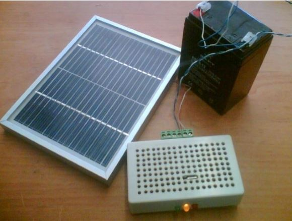 پروژه ساخت شارژر خورشیدی با solar cell