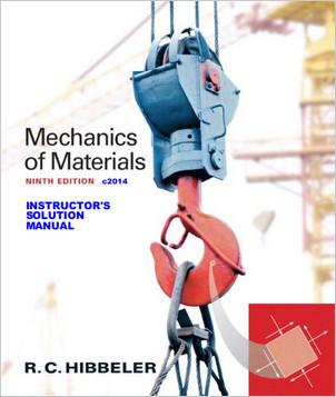 دانلود حل تمرین کتاب مکانیک مواد هیبلر ویرایش نهم