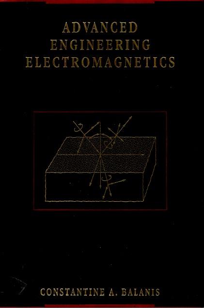 دانلود حل تمرین الکترومغناطیس مهندسی پیشرفته بالانیس