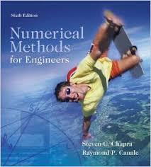 دانلود حل تمرین کتاب روش های عددی استیون چاپرا