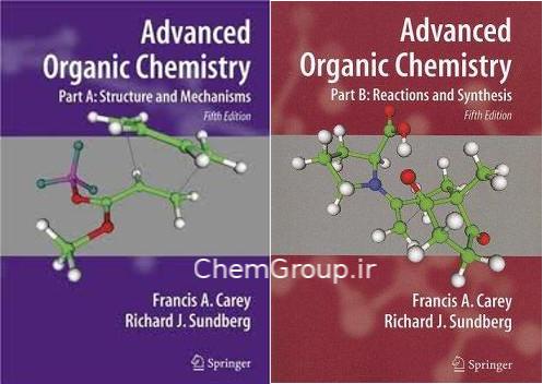 دانلود حل تمرین شیمی آلی پیشرفته کری ویرایش پنجم