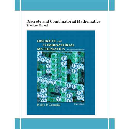 دانلود حل المسائل ریاضیات گسسته گریمالدی