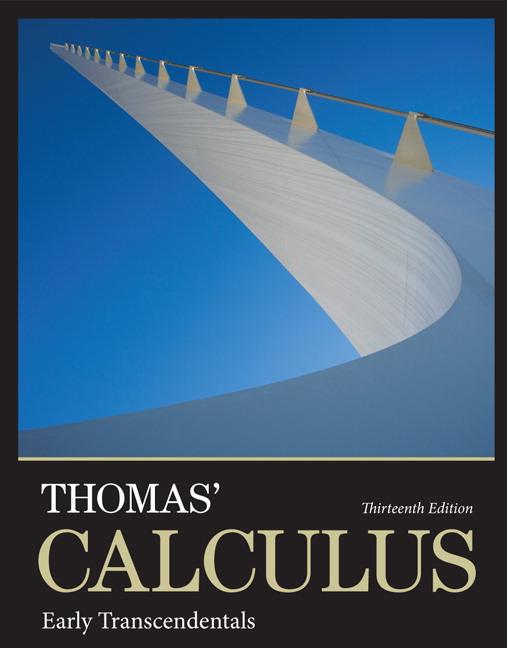 دانلود حل تمرین حساب دیفرانسیل و انتگرال توماس