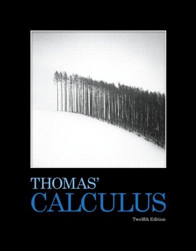 دانلود حل تمرین ریاضیات عمومی توماس ویرایش دوازدهم