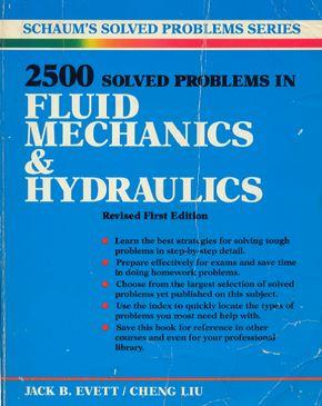 دانلود 2500 تمرین حل شده در مکانیک سیالات و هیدرولیک
