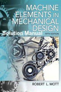 حل المسائل عناصر ماشین در طراحی مکانیک رابرت مات