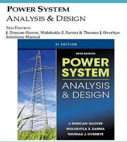 دانلود حل تمرین طراحی و بررسی سیستم های قدرت گلاور