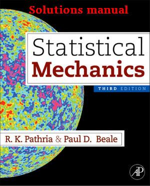 دانلود حل تمرین کتاب مکانیک آماری پتریا ویرایش  سوم