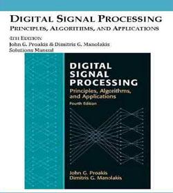 دانلود حل تمرین پردازش سیگنال های دیجیتال پروکیس و مانولاکیس