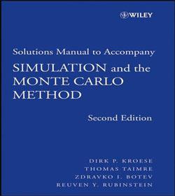 دانلود حل المسائل شبیه سازی و روش مونت کارلو