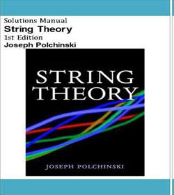 دانلود حل تمرین نظریه ریسمان پولچینسکی