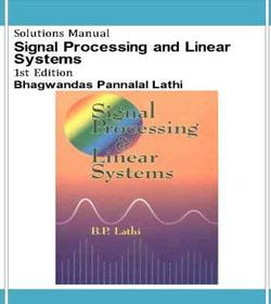 دانلود حل تمرین پردازش سیگنال و سیستم های خطی لاتی
