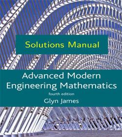 دانلود حل تمرین ریاضیات مهندسی پیشرفته مدرن گلین جیمز