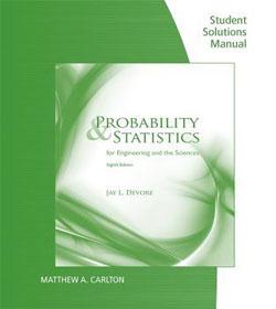 حل المسائل آمار و احتمال مهندسی جی دوور ویرایش نهم