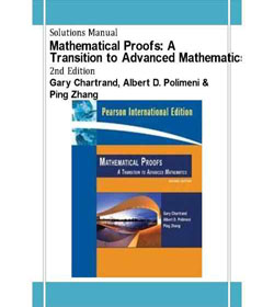 دانلود حل المسائل اثبات های ریاضی  گری چارترند