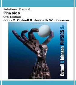 دانلود حل المسائل فیزیک جان کاتنل ویرایش نهم