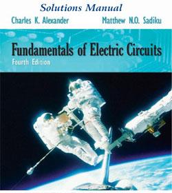 دانلود حل المسائل مبانی مدارهای الکتریکی چارلز الکساندر