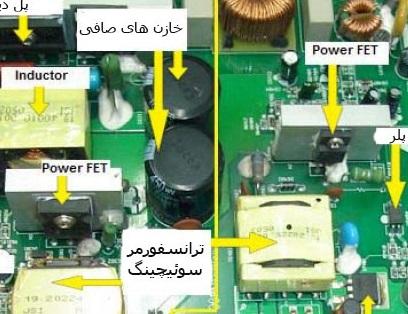 دانلود کتاب آموزش تعمیر بردهای الکترونیک و عیب یابی قطعات الکترونیکی به زبان فارسی