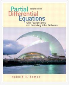دانلود حل المسائل کتاب معادلات دیفرانسیل جزئی اسمر Asmar