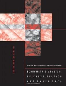 دانلود حل المسائل کتاب اقتصاد سنجی تحلیل داده های مقطعی و داده های تابلویی وولدریج