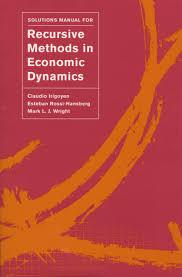 دانلود حل المسائل کتاب روش های بازگشتی در دینامیک اقتصادی