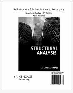 دانلود حل المسائل کتاب تحلیل سازه ها کاسیمالی ویرایش چهارم