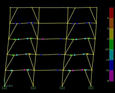 دانلود پروژه بررسی پارامترهای طراحی لرزهای سیستم قاب مهاربندی شده دوگانه واگرا