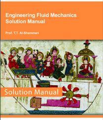 دانلود حل المسائل کتاب مهندسی مکانیک سیالات الشمری