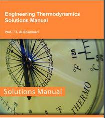 دانلود حل المسائل کتاب مهندسی ترمودینامیک الشمری
