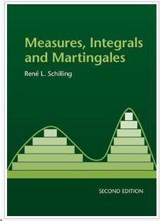 دانلود حل المسائل کتاب محاسبات، انتگرال ها و مارتینگال های رنه اسچیلینگ ویرایش اول و دوم