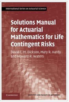 دانلود حل المسائل کتاب راه حل های آماری ریاضیات برای خطرات احتمالی زندگی دیکسون