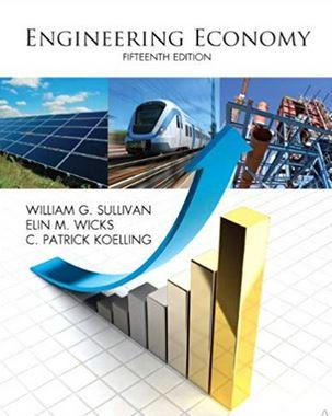 دانلود حل المسائل کتاب اقتصاد مهندسی ویلیام سولیوان ویرایش پانزدهم