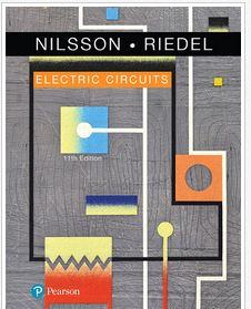 دانلود حل المسائل مدارهای الکتریکی جیمز نیلسون ویرایش یازدهم