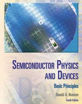 دانلود حل المسائل کتاب مقدمه ای بر فیزیک و قطعات نیمه هادی دونالد نیمن ویرایش چهارم