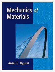 دانلود حل المسائل کتاب طراحی مکانیکی اجزای ماشین انسل یوگورال Ansel Ugural