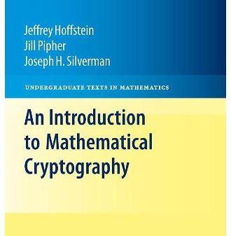 دانلود حل المسائل کتاب رمزنگاری ریاضیاتی جفری هافشتاین Jeffrey Hoffstein