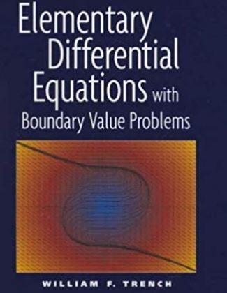 دانلود حل المسائل کتاب معادلات دیفرانسیل مقدماتی ویلیام ترنچ William Trench