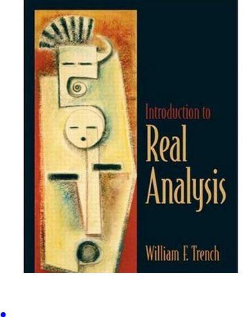 دانلود حل المسائل کتاب مقدمه ای بر آنالیز حقیقی ویلیام ترنچ William Trench