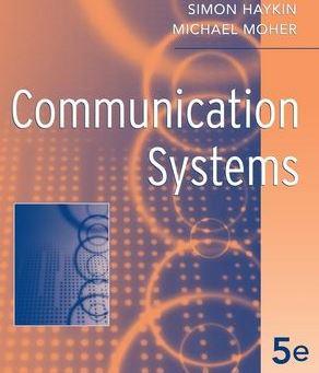 دانلود حل تمرین کتاب سیستم های مخابراتی هایکین Haykin
