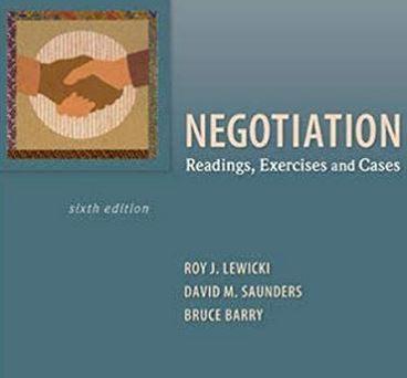 دانلود حل المسائل کتاب ضروریات مذاکره روی لوئیچی Roy Lewicki