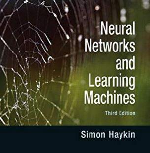 دانلود حل المسائل کتاب شبکه های مصنوعی سیمون هایکین  Simon Haykin