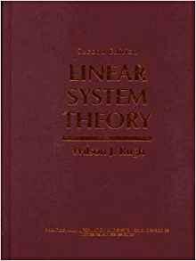 دانلود حل المسائل کتاب نظریه سیستم خطی ویلسون راگ