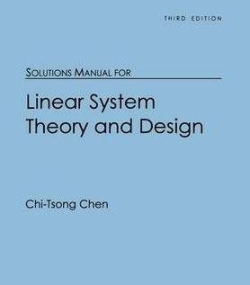 دانلود حل المسائل کتاب نظریه و طراحی سیستم خطی تی سونگ چن