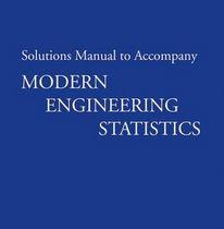 دانلود حل المسائل کتاب آمار مهندسی مدرن توماس ریان