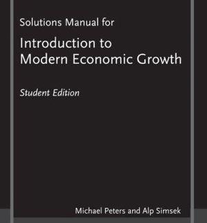 دانلود حل المسائل کتاب توسعه اقتصادی نوین مایکل پیترز Michael Peters