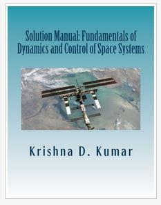 دانلود حل المسائل کتاب دینامیک و کنترل سیستم های فضایی کریشنا کومار Krishna Kumar