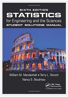 دانلود حل المسائل کتاب آمار برای مهندسی و علوم ویلیام مندنهال William Mendenhall