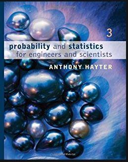 دانلود حل المسائل کتاب آمار و احتمال آنتونی هایتر Anthony Hayter
